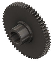 1221 Gear, 56 Tooth, Steel - Tiny-Clutch