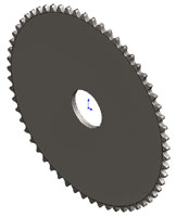 1476 Sprocket 60 Tooth, 25 Pitch - Tiny-Clutch