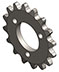1883 Sprocket 16 Tooth, 25 Pitch with Mounting Holes - Tiny-Clutch