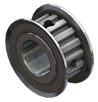 2392 Pulley, 16 Tooth, 6A316H37 - TinyClutch