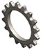 2671 Sprocket 16 Tooth, 25 Pitch - Tiny-Clutch